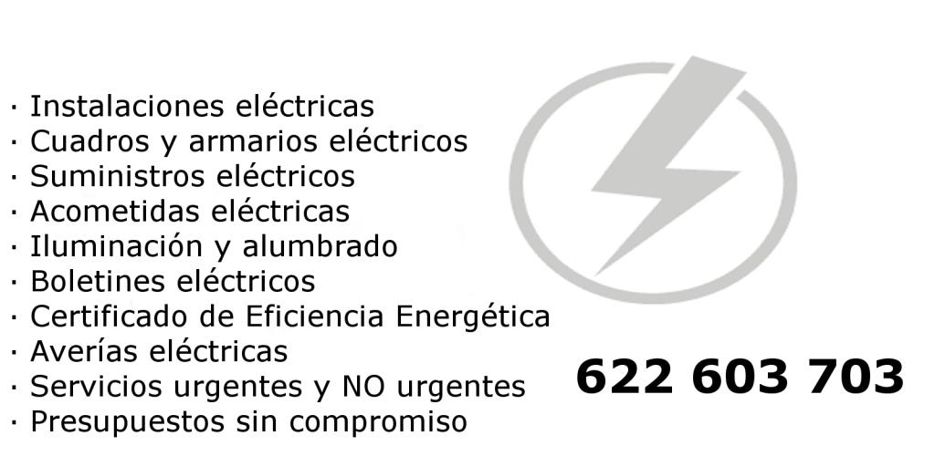 Servicios electricistas Valencia